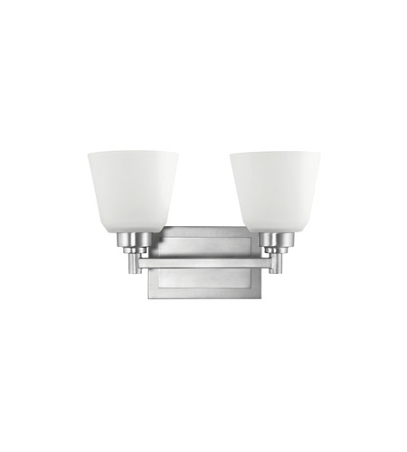 Kichler Lighting Berwick 2 Light Bath Vanity in Brushed Nickel 5149NI