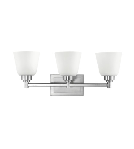 Kichler Lighting Berwick 3 Light Bath Vanity in Brushed Nickel 5150NI