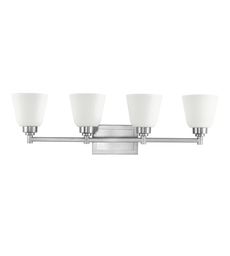 Kichler Lighting Berwick 4 Light Bath Vanity in Brushed Nickel 5151NI
