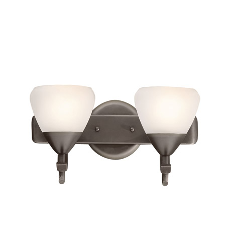 Kichler Lighting Olympia 2 Light Bath Vanity in Olde Bronze 5177OZW