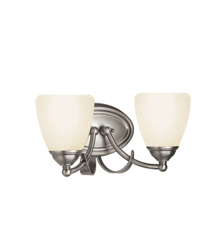 Kichler Lighting Lombard 2 Light Bath Vanity in Antique Pewter 5239AP photo