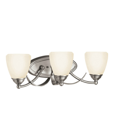 Kichler Lighting Lombard 3 Light Bath Vanity in Antique Pewter 5240AP photo