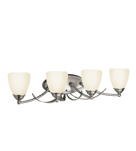 Kichler Lighting Lombard 4 Light Bath Vanity in Antique Pewter 5241AP photo