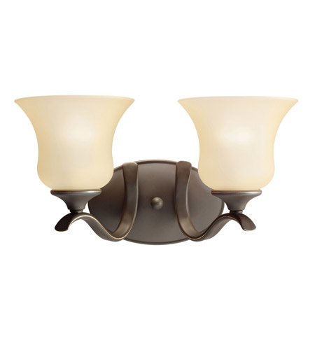 Kichler 5285OZ Wedgeport 2 Light 15 inch Olde Bronze Bath Vanity Wall Light photo