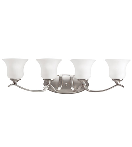 Kichler Lighting Wedgeport 4 Light Bath Vanity in Brushed Nickel 5287NI