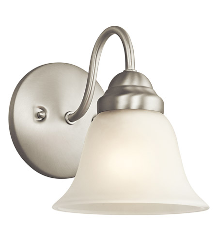 Kichler Lighting Wynberg 1 Light Wall Sconce in Brushed Nickel 5294NI photo