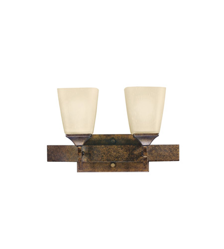Kichler Lighting Souldern 2 Light Bath Vanity in Marbled Bronze 5315MBZ