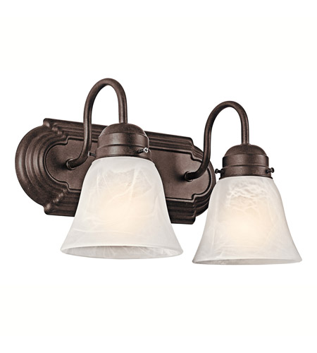 Kichler 5336TZ Signature 2 Light 12 inch Tannery Bronze Bath Vanity Wall Light photo