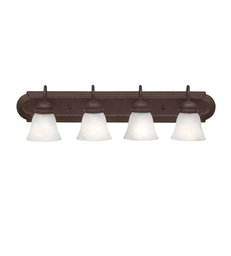 Kichler Lighting Signature 4 Light Bath Vanity in Tannery Bronze 5338TZ