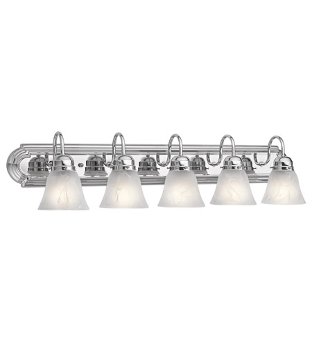 Kichler 5339CH Signature 5 Light 36 inch Chrome Bath Vanity Wall Light photo