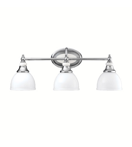Kichler 5369CH Pocelona 3 Light 24 inch Chrome Bath Vanity Wall Light photo