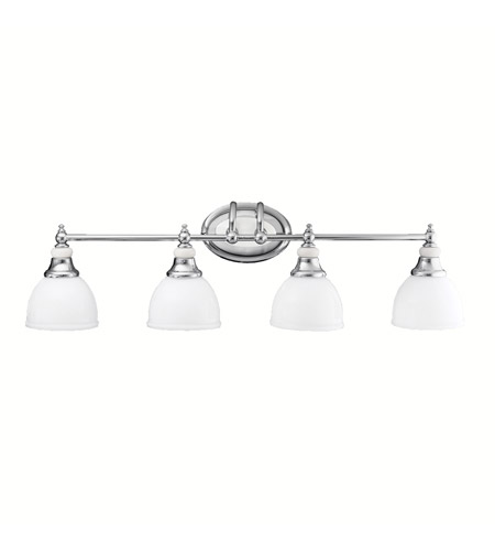 Kichler Lighting Pocelona 4 Light Bath Vanity in Chrome 5370CH