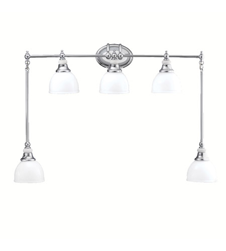 Kichler Lighting Pocelona 5 Light Bath Vanity in Chrome 5371CH photo