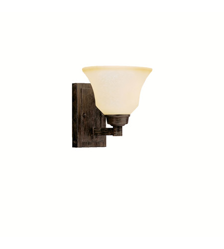 Kichler Lighting Langford 1 Light Wall Sconce in Canyon Slate 5388CST