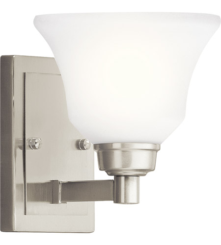 Kichler Lighting Langford 1 Light Wall Sconce in Brushed Nickel 5388NI photo