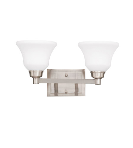 Kichler Steel Langford Bathroom Vanity Lights