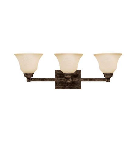 Kichler Lighting Langford 3 Light Bath Vanity in Canyon Slate 5390CST