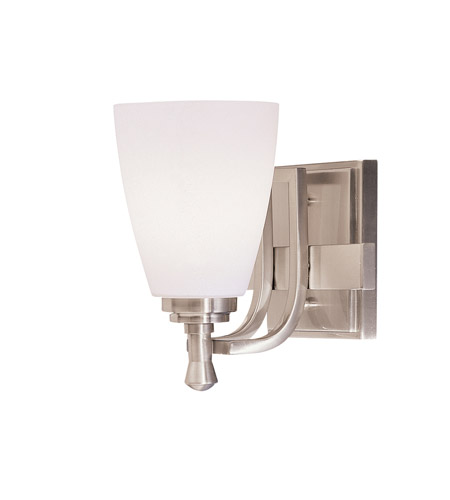 Kichler Lighting Uptown 1 Light Bath Vanity in Brushed Nickel 5401NI photo