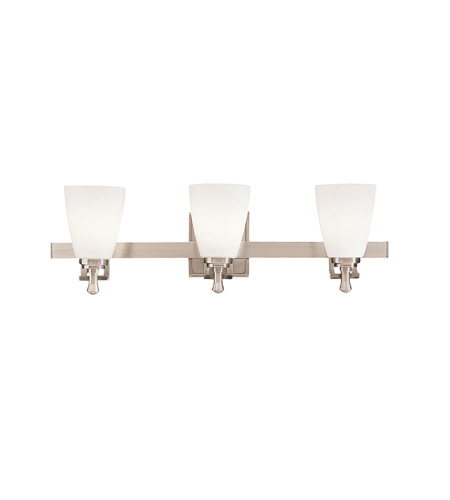 Kichler 5403NI Uptown 3 Light 24 inch Brushed Nickel Bath Vanity Wall Light photo