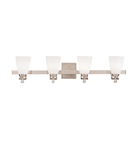 Kichler Lighting Uptown 4 Light Bath Vanity in Brushed Nickel 5404NI