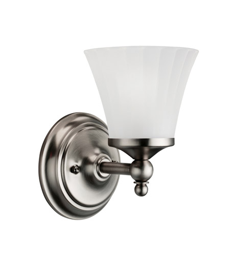 Kichler Lighting Lilly 1 Light Bath Vanity in Antique Pewter 5454AP
