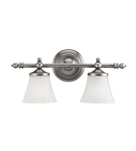 Kichler Lighting Lilly 2 Light Bath Vanity in Antique Pewter 5455AP photo