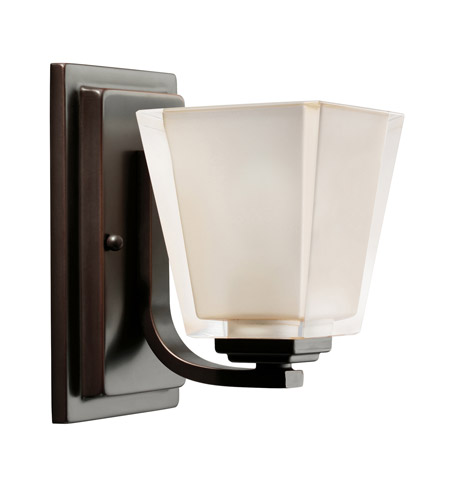 Kichler Lighting Urban Ice 1 Light Bath Vanity in Olde Bronze 5459OZ photo