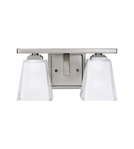 Kichler Lighting Urban Ice 2 Light Bath Vanity in Antique Pewter 5460AP