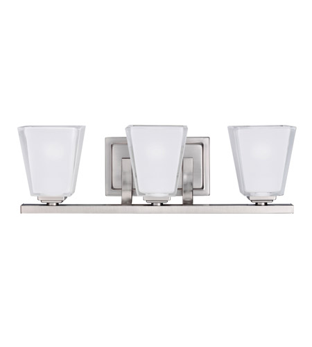 Kichler Lighting Urban Ice 3 Light Bath Vanity in Antique Pewter 5461AP