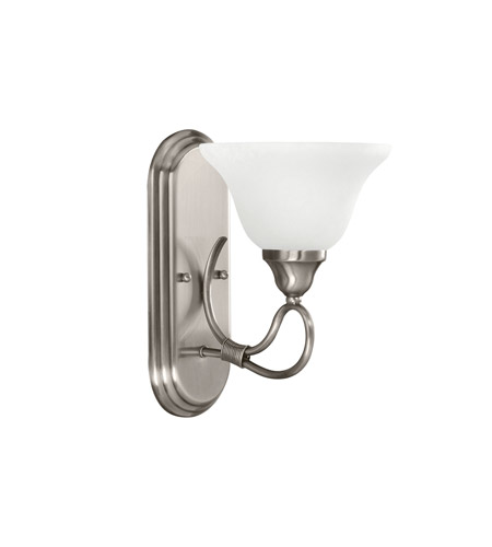 Kichler Lighting Stafford 1 Light Wall Sconce in Antique Pewter 5556AP