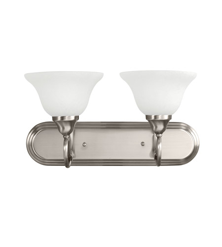 Kichler Lighting Stafford 2 Light Bath Vanity in Antique Pewter 5557AP