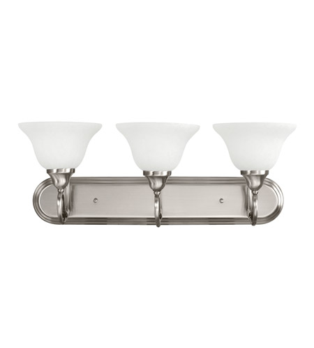 Kichler Lighting Stafford 3 Light Bath Vanity in Antique Pewter 5558AP