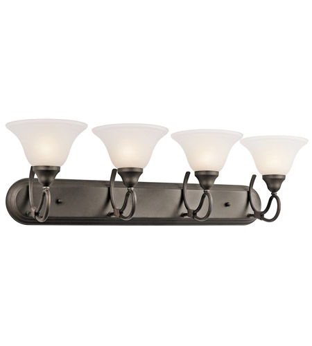 Kichler Lighting Stafford 4 Light Bath Vanity in Olde Bronze 5559OZ photo