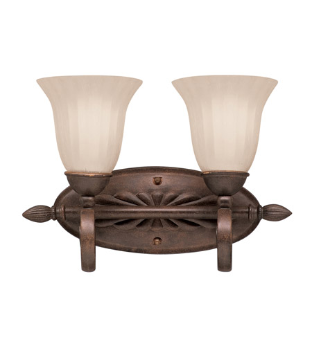 Kichler 5927TZ Willowmore 2 Light 16 inch Tannery Bronze Bath Vanity Wall Light photo