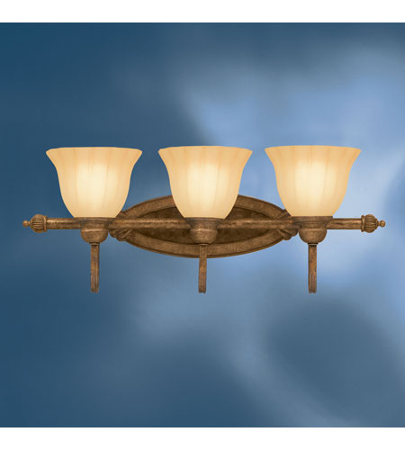 Kichler Lighting Northam 3 Light Bath Vanity in Lincoln Bronze 5943LBZ photo