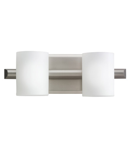 Kichler Lighting Tubes 2 Light Bath Vanity in Brushed Nickel 5966NI
