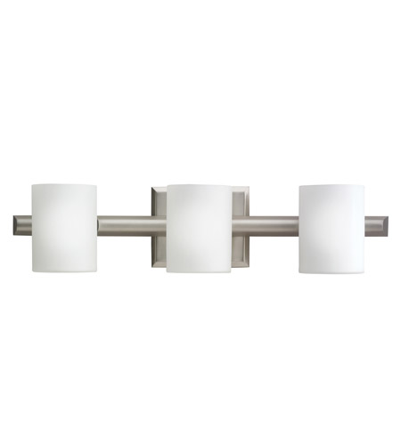 Kichler Lighting Tubes 3 Light Bath Vanity in Brushed Nickel 5967NI