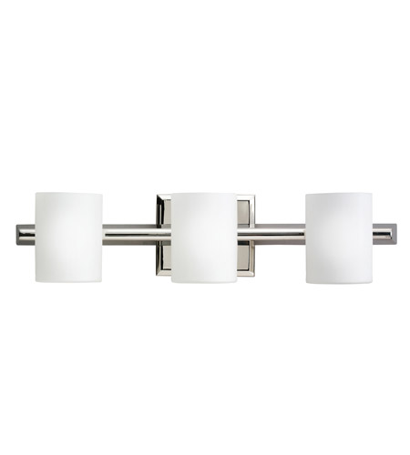 Kichler Lighting Tubes 3 Light Bath Vanity in Polished Nickel 5967PN photo