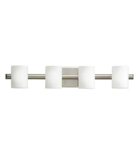 Kichler 5968NI Tubes 4 Light 28 inch Brushed Nickel Bath Vanity Wall Light photo