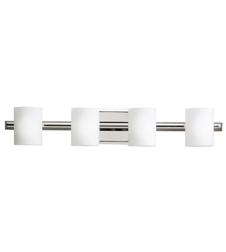 Kichler Lighting Tubes 4 Light Bath Vanity in Polished Nickel 5968PN