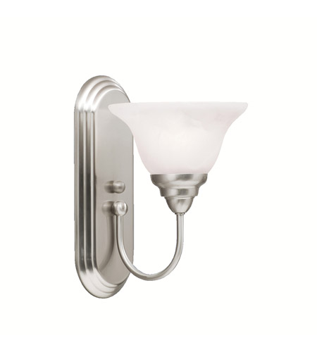 Kichler Lighting Telford 1 Light Wall Sconce in Brushed Nickel 5991NI