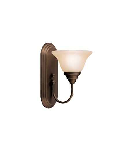 Kichler Lighting Telford 1 Light Wall Sconce in Olde Bronze 5991OZ