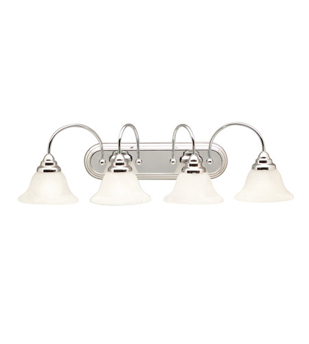 Kichler Lighting Telford 4 Light Bath Vanity in Chrome 5994CH