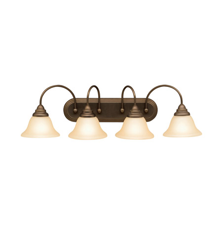 Kichler Lighting Telford 4 Light Bath Vanity in Olde Bronze 5994OZ photo