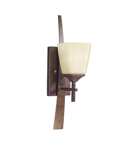 Kichler Lighting Souldern 1 Light Wall Sconce in Marbled Bronze 6016MBZ photo