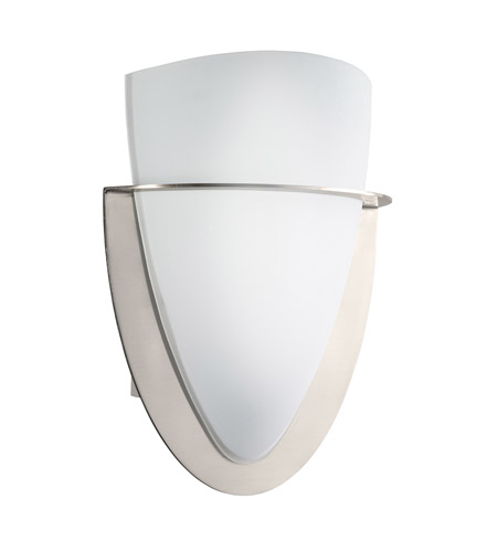 Kichler Lighting Signature 1 Light Wall Sconce in Brushed Nickel 6020NI