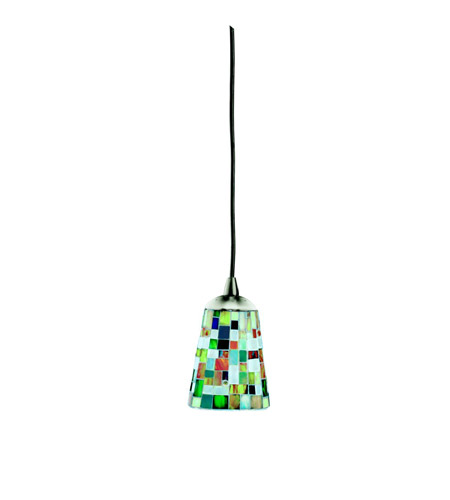Kichler Lighting Confetti 1 Light Mini Pendant in Brushed Nickel 60263
