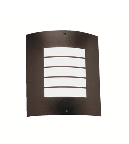 Kichler Lighting Newport 1 Light Outdoor Wall Lantern in Architectural Bronze 6040AZ