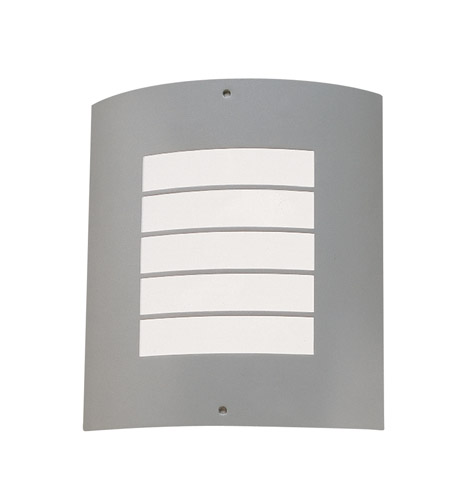 Kichler Lighting Newport 1 Light Outdoor Wall Lantern in Brushed Nickel 6040NI