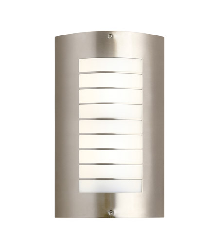 Kichler 6048NI Newport 2 Light 15 inch Brushed Nickel Outdoor Wall - Large photo